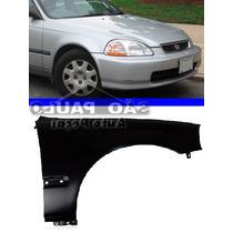 Paralama Honda Civic 96 97 98 1996 1997 1998 Lado Direito