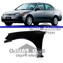 Paralama Civic 2001 2002 2003 01 02 03 Honda Esquerdo