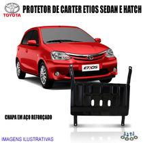Protetor De Carter Do Toyota Etios Sedan / Hatch 2012 / 2015