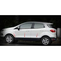 Friso Porta Lateral Ford Novo Ecosport 10 Pçs Fd-13ec13