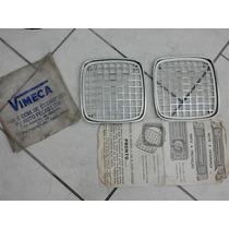 Grade Farol Opala Envemo 71/74 Peça Nova Na Embalagem Unicoo