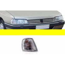 Lanterna Dianteira Peugeot 405 1992/ Cristal-direito