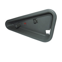 Trava Maçaneta Porta Dianteira Direita S10 Blazer Grafite