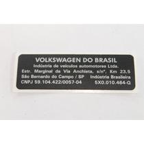 Etiqueta Original Painel Frontal Sant Gol G3 G4 G5 Polo Fox