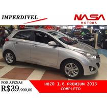 Hyundai Hb20 1.6 Premium 2013 Completo Nasa Motors