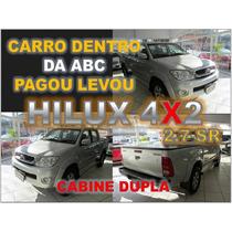 Toyota Hilux 2.7 Sr 4x2 Cd Automatica Ano 2010 - Financio