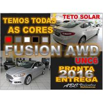New Fusion 2.0 Titanium Awd - Teto Solar - 15/16- 0km - Unc6