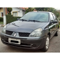 Renault Clio Sedan 1.0 Authentic 2003 - Excelente Estado