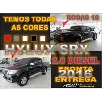 Hilux 2.8 Srx 4x4 Cd Diesel Automático Ano 2016 - 0 Km