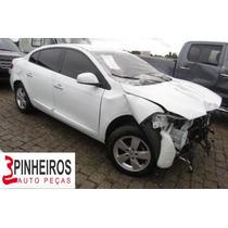 Renault Fluence Sucata Peças - Motor Câmbio Eixo Porta Farol