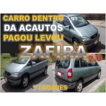 Gm Zafira Cd 2.0 16v Otimo Estado 7 Lugares
