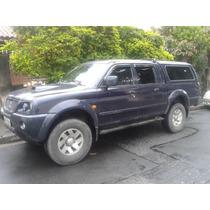 Caminhonete L 200 Outdoor 2004 Diesel 4x4 Com Capota