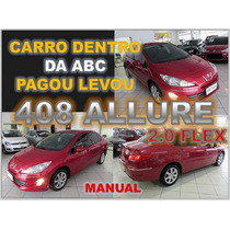 Peugeot 408 2.0 Allure - Ano 2013 - Financio Sem Burocracia