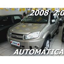 Ford Ecosport 2.0 Xlt 16v Gasolina 4p Automático 2008/2008