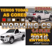Strada Working 1.4 Cabine Simples - 0km 2016 Pronta Entrega