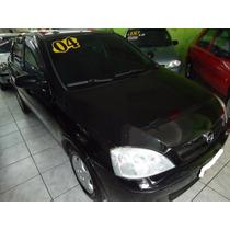 C0rsa Sedan Vhc 2004 Pret0 C/vidr0s E Travas Tr0c0 Financi0