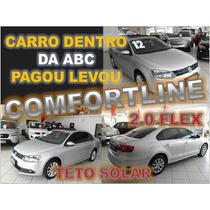 Jetta 2.0 Comfortline Com Teto Solar - Ano 2012 - Financio