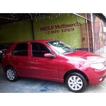 Fiat Palio Elx 1.4 Flex Vermelho Ano 2006 Garantia Motor