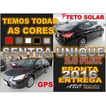 Novo Sentra 2.0 Unique + Teto Solar 15/16 0km Pronta Entrega
