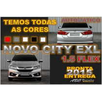 City Exl 1.5 Flex Automatico - Ano 2015 0 Km Pronta Entrega