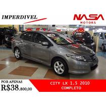 Honda City Lx Automatico 1.5 2010 Completo Nasa Motors