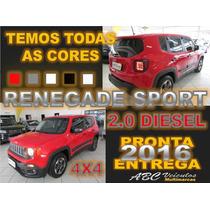Jeep Renegade 2.0 Turbo Diesel Sport 4x4 - Zero Km