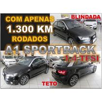 Audi A1 1.4 Tfsi Sport 185cv Com Teto Ano 2013 - Blindada