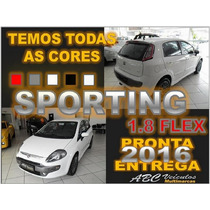 Punto Sporting 1.8 Flex - Ano 2016 - Zero Km Pronta Entrega