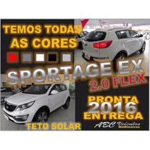Sportage Ex 4x2 Com Teto Solar - 0km -15/16 - Pronta Entrega
