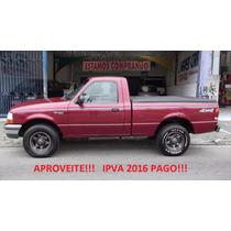 Ford Ranger Xlt 4.0 V6 Cs C/ Ipva 2016 Integral Pago!!!