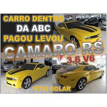 Camaro Rs 3.6 V6 Com Teto Solar Ano 2010 Seminovo Impecável