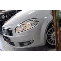 Fiat Linea 1.8 16v Essence Flex (rodas+milha+som) 2012