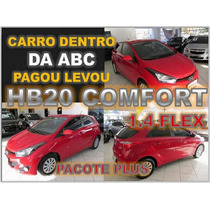 Hb20 Comfort 1.6 Flex Manual Ano 2015 Com Pacote Plus