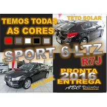 Cruze Ltz Sport - Automatico + Couro + Teto-15/16- 0km- R7 J