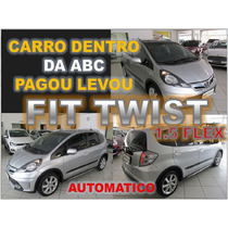 Honda Fit 1.5 Twist Automático - Ano 2014 - Financio