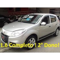 Renault/sandero Exp 1.6 !!!! Completo !!! 2 º Dono !!!