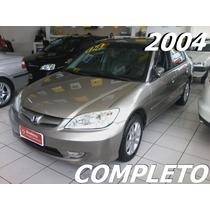 Honda Civic 1.7 Lx 16v Gasolina 4p Manual 2004/2004