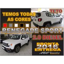 Jeep Renegade 2.0 Turbo Diesel Sport 4x4 Com Teto - Zero Km