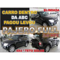 Pajero Full 3.8 4x4 V6 Com Teto Solar - Ano 2008 - Blindada