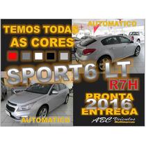Cruze Sport 6 Lt Automatico - 2016 - Pronta Entrega - R7 H