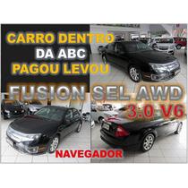 Fusion Sel 3.0 V6 Awd Ano 2012 - Financio Sem Burocracia
