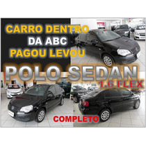 Polo Sedan 1.6 Flex Ano 2009 Financio Sem Burocracia Alguma