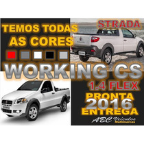 Fiat Strada Working Cab Simples Ano 2016 0 Km Pronta Entrega