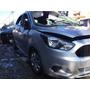 Ford Ka 2014/2015 Flex Prata - Sucata Para Retirar Peças