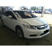 Sucata Para Retirada De Peças Honda Civic 2014