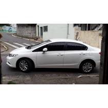 Honda New Civic 1.8 2014 Branco 4 Portas