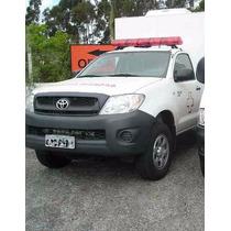 Hilux Std Cs 4x4 Ambulância Uti