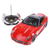 Carrinho De Controle Remoto Ferrari Gto 1:14 - Frete Grátis