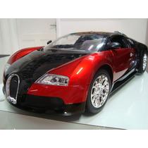 Carro Controle Elétrico Automodelo Bugatti Veyron 1/10