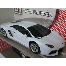 Lamborguini Aventador Lp700-4 Controle Remoto Maisto 1/24